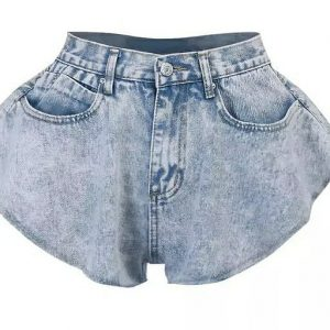 Sexy Blue Jeans Shorts